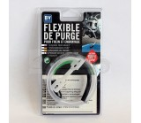 Flexible de purge de freins