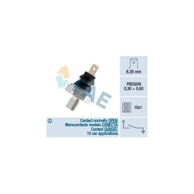 Manocontact de pression d'huile 0.3 / 0.6 bar M10 x 1