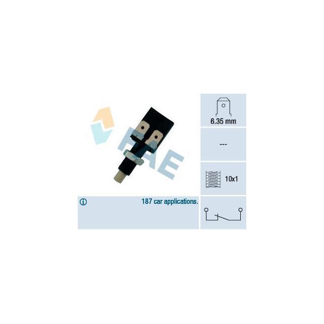 Contacteur de feux stop manuel M10 x 1