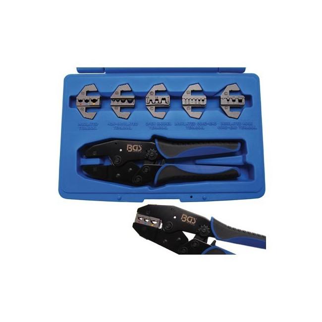 BGS Technic 1410 Coffret Pince a cosse Pro Noir
