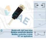 Contactor of stop lights Manual Seat, VW