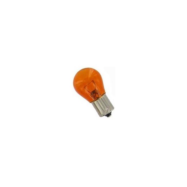 Ampoule 12V BAU15S 21W ambre