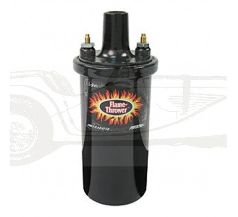 Bobine Pertronix Flame-Thrower Noire 1.5 Ohm