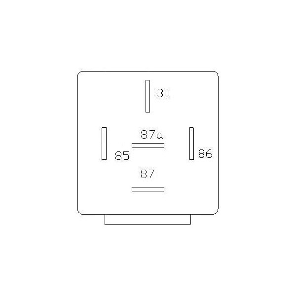 relay 12v 30 40a with diode 12v 3040a relay diagram electrical wiring diagrams