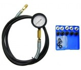 Manometer oil pressure tester