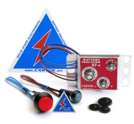 Coupe circuit électronique CARTEK GT bouton rouge