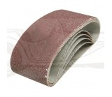 Lot de 5 bandes abrasives 60x400mm