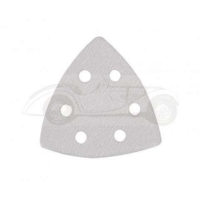 Lot de 10 triangles auto-agrippant stéarate 90mm
