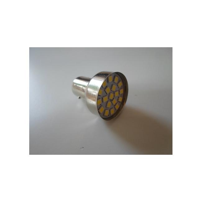 Bay15d Double Blanche 6v Ampoule 19 Led Plot 8nmNv0wO