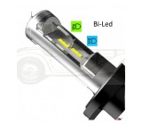 Ampoules code / phare 12V LED - H4 - P45T Code européen (4000 lm)