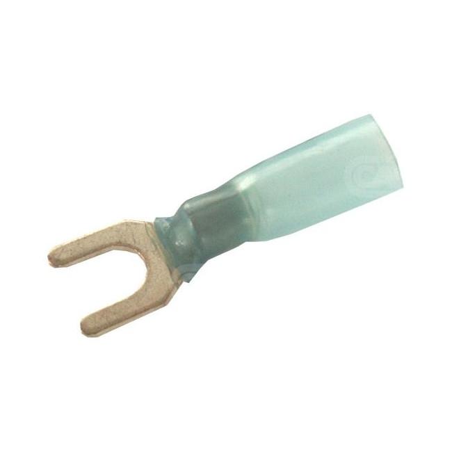 Cosse à fourche thermorétractable - fil 1.5/2.5 - largeur 9.5