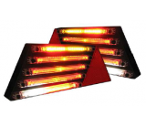 LED taillight right trailer