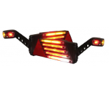 LED taillight right trailer + S MARKER