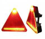 Right rear light LED compact trailer