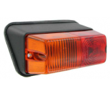 Taillight inclined left base