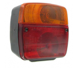 taillight with license plate light