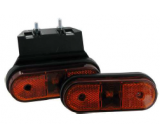 Feu de gabarit 1 LED orange + Semelle