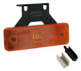 Clearance light + 1 LED orange sole and click-in