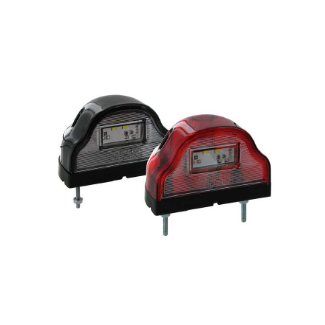 Eclaireur de plaque LED noir type Aspock