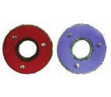 Corrosion washers to battery terminals