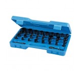 Box of 35 sockets for impact wrench